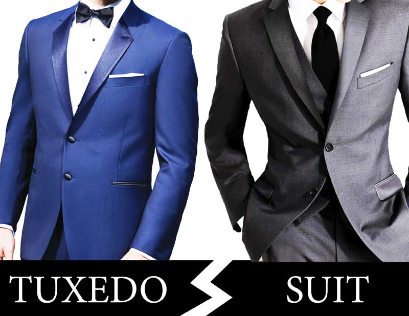 Tuxedo Vs Suit What S The Difference Brentwood Livery